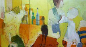 Men's Mind (2008), 100 x 180 cm (2-teilig)