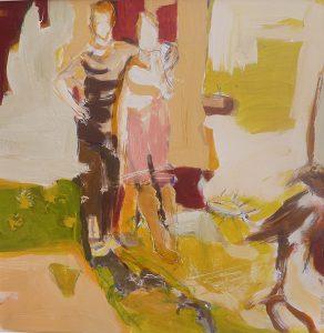 paar (2011), 40 x 40 cm