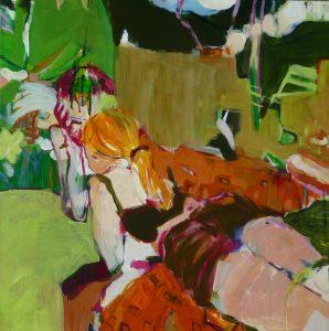im garten (2011), 80 x 80 cm