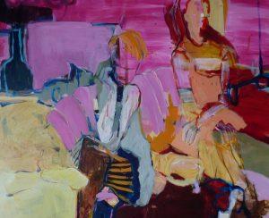 Anna und Lisa (2011), 90 x 110 cm