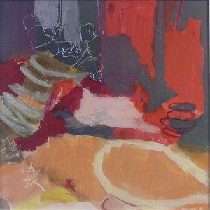 spielzeit (2011), 40 x 40 cm