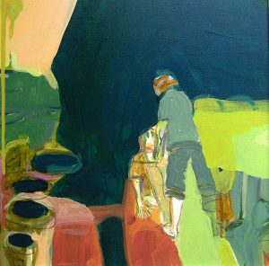 mit leichtigkeit (2009), 40 x 40 cm