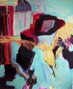 vogelfrei (2009), 110 x 90 cm