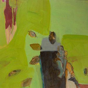 fliegen (2009), 40 x 40 cm