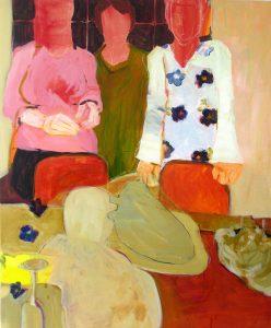 Die Einladung (2008), 120 x 100 cm