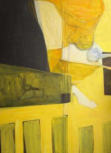 Kopfüber (2002), 140 x 100 cm, (Privatbesitz)