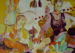 In the mood (2011), 100 x 140 cm, (Privatbesitz)