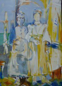 Die Kommunion (2011), 140 x 100 cm