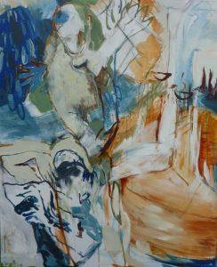 der tanz (2012), 110 x 90 cm