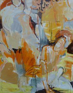 Schöpfung (2012), 110 x 90 cm