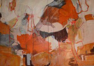 Hatz (2012), 140 x 200 cm (2-teilig), (Privatbesitz)