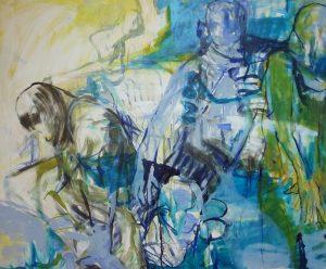 entre nous (2012), 90 x 110 cm