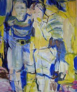 Freundschaft (2013), 110 x 90 cm