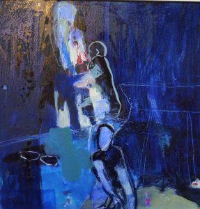 hängend (2013), 40 x 40 cm