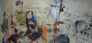 Tristess (2013), 100 x 210 cm