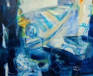 Fernsicht-Nahsicht (2014), 120 x 150 cm