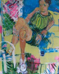 In der Gartenlaube (2015), 110 x 90 cm