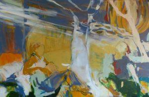 Traumwelten (2015), 100 x 160 cm (Privatbesitz)
