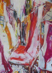 Fahnen (2015), 140 x 100 cm (Privatbesitz)