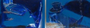 Serie Blaue Stunde (2014), 20 x 30 cm