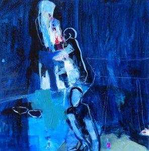 Beziehungen (2013), 40 x 40 cm (Privatbesitz)
