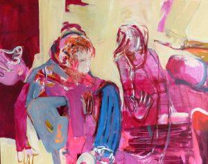Begegnungen (2016), 90 x 110 cm