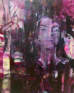 Julis (2016), 110 x 90 cm