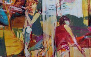 herbstzeitlos (2017), 100 x 160 cm