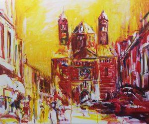 Dom Speyer Malerei